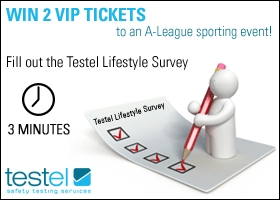 Fill out the Testel Lifestyle Survey
